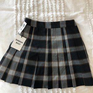 Sunday Best Plaid Skirt